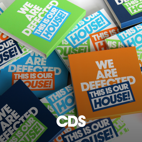 Defected CDs